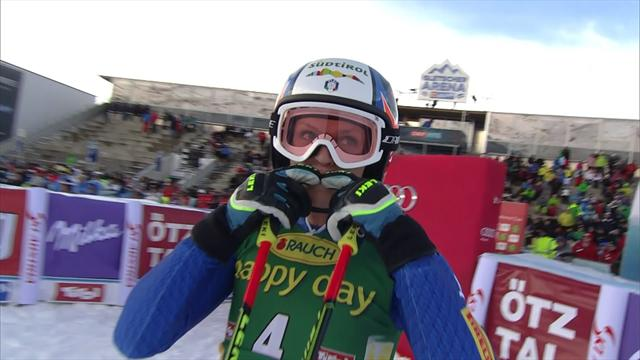 Moelgg sets pace in GS first run