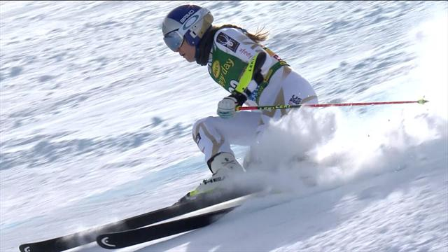Lindsey Vonn well off pace in season debut