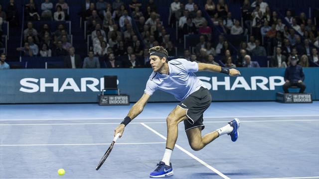 ATP Basilea, Juan Martín del Potro-Marin Cilic: Sigue la racha (6-4 y 6-4)