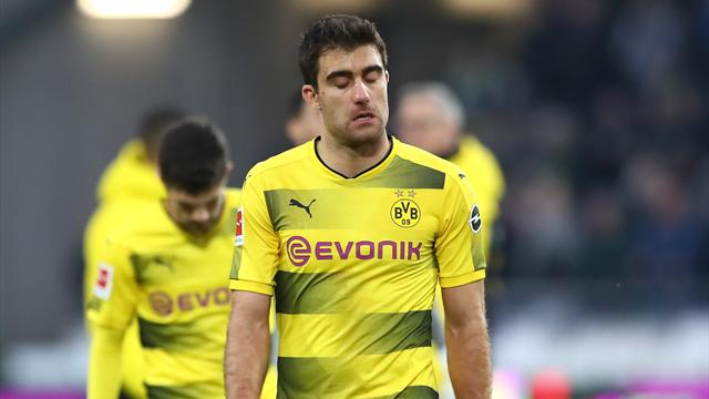 Au tapis, Dortmund lâche sa première place