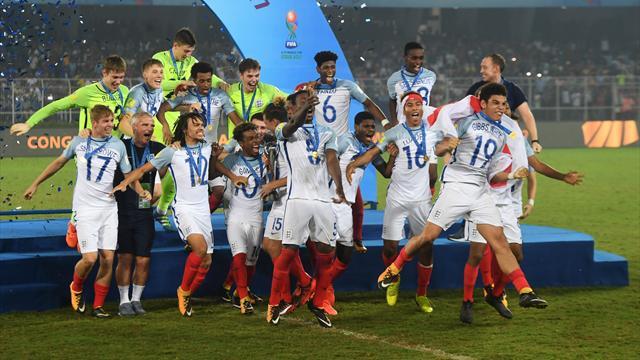 Сборная Британии U-17 выиграла чемпионат мира, разгромив Испанию