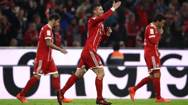 Le choc et la première place : soirée parfaite pour le Bayern