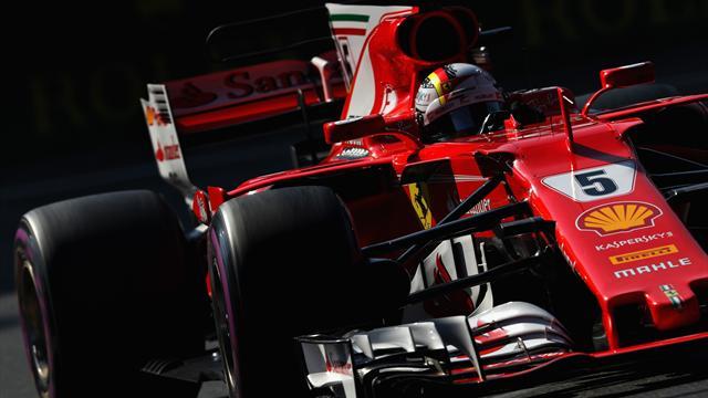 GP México: Vettel consigue la pole, Sainz saldrá noveno y Alonso quedó fuera en la Q2