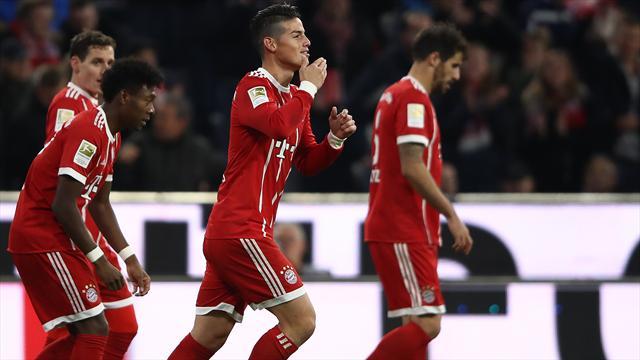 3 Dinge, die auffielen: James stempelt, armer Werner und Boss Martínez