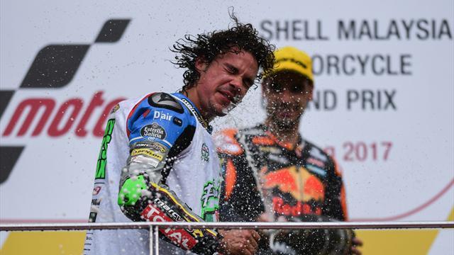 Oliveira se lleva la victoria en Sepang y Morbidelli ya es campeón del mundo