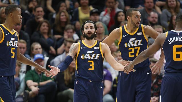 Thunder-Jazz: Abrines amarga el estreno de un buen Ricky Rubio en los playoff (116-108)