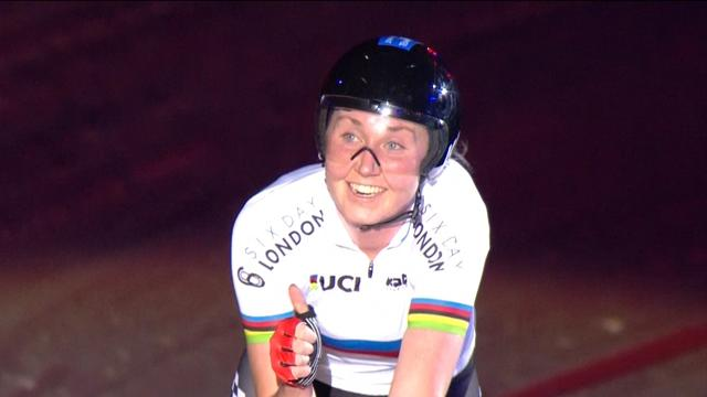 Great Britain's team pursuit women shine at home World Cup
