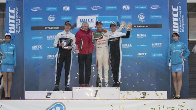 Michelisz is WTCC rainmaster for Honda in Japan