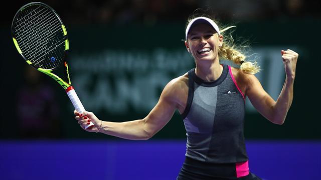 Enfin un grand titre pour Wozniacki