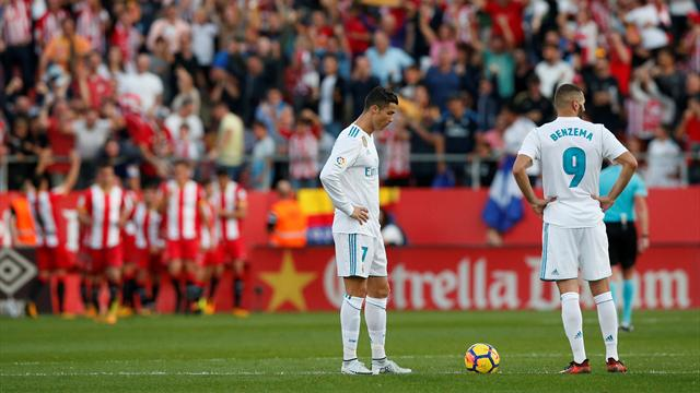 Real Madrid stunned as Girona record shock win