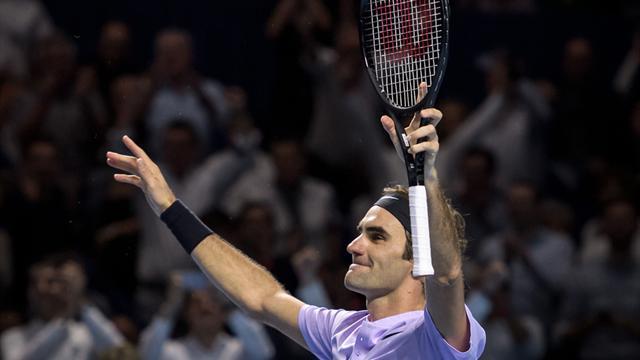 Федерер в восьмой раз выиграл турнир в Базеле