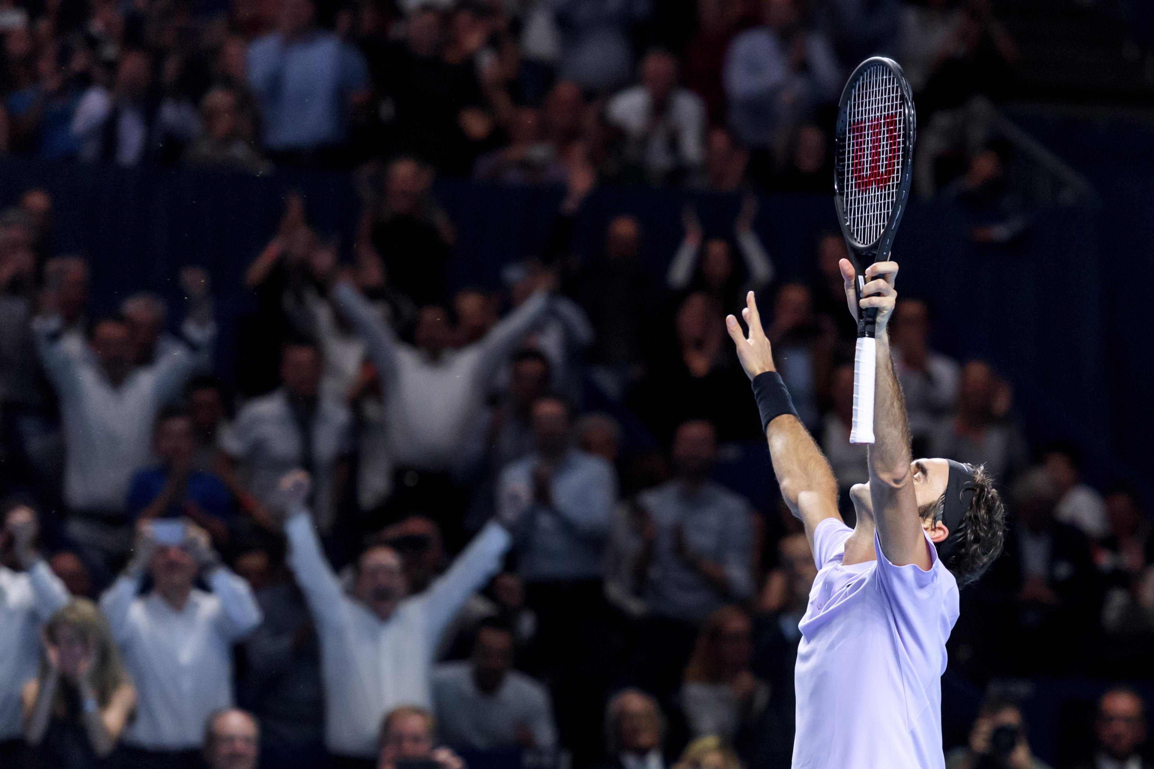 Roger Federer à Bâle