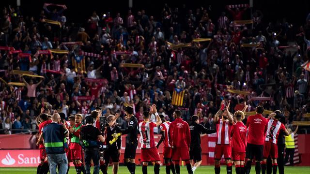 Entre foot et «castellers», la fière Gérone fait sa fête au Real