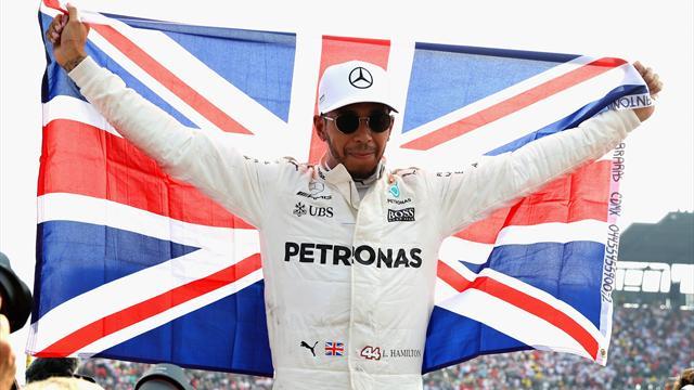 Hamilton, tetracampeón del mundo el día en el que Alonso volvió a puntuar