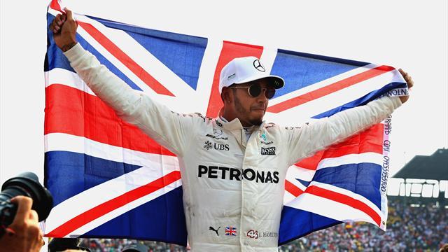 Lewis Hamilton, nella testa del 4 volte campione del Mondo