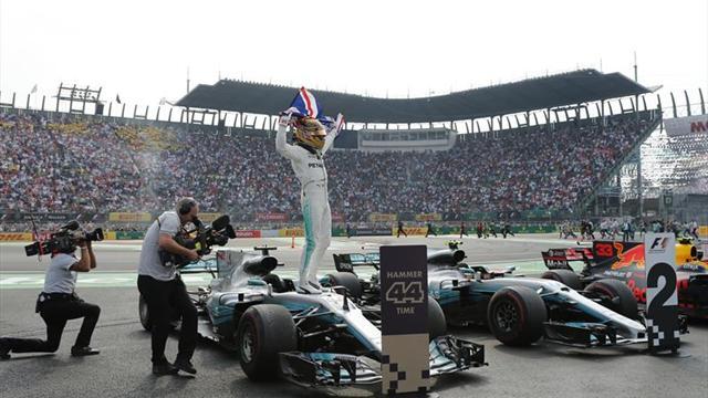 """Hamilton: """"Ahora quiero el número cinco"""""""