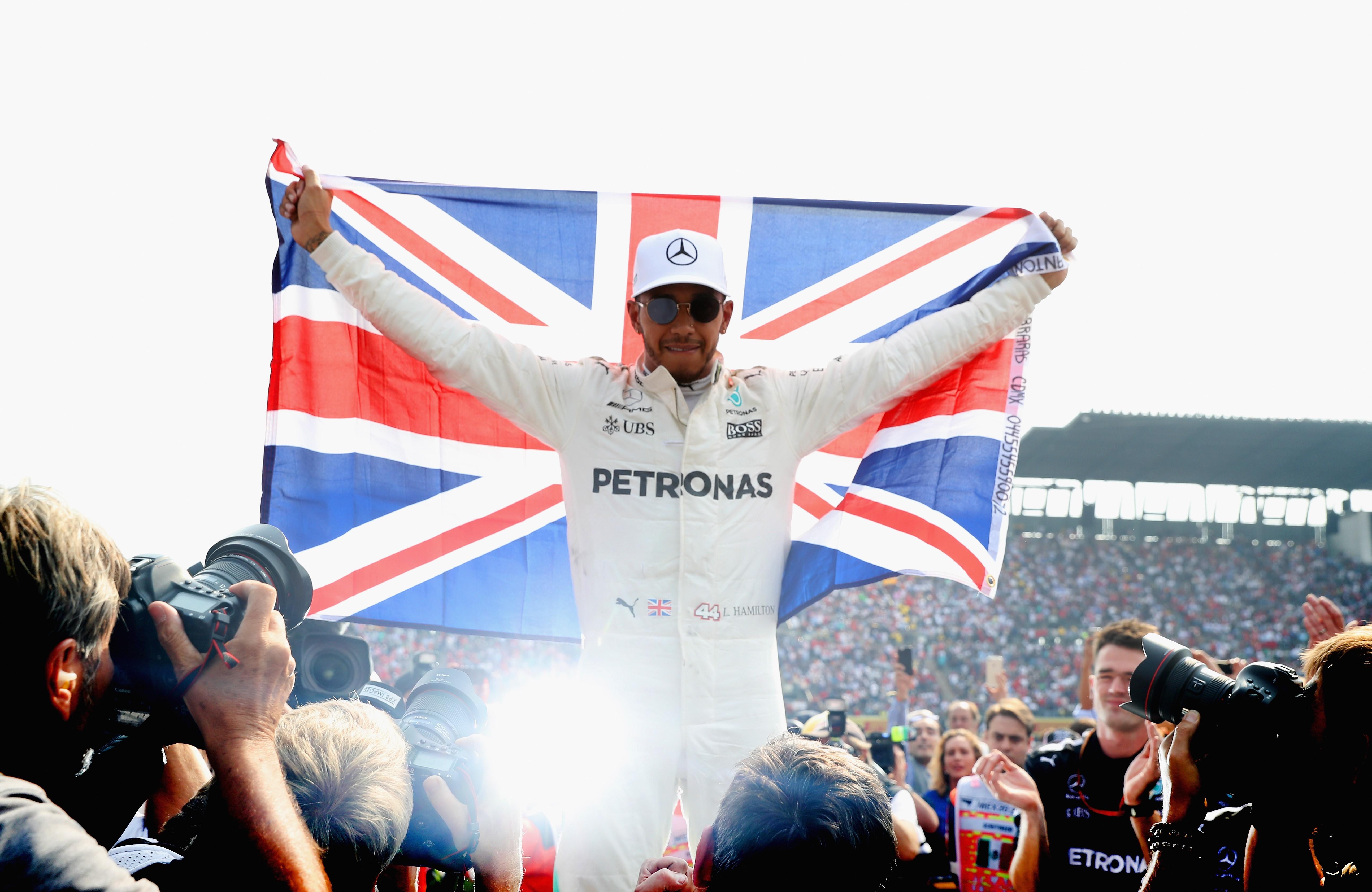 Lewis Hamilton (Mercedes) au Grand Prix du Mexique 2017
