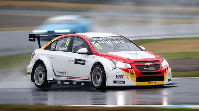 Strong WTCC debut leaves Richard wanting more