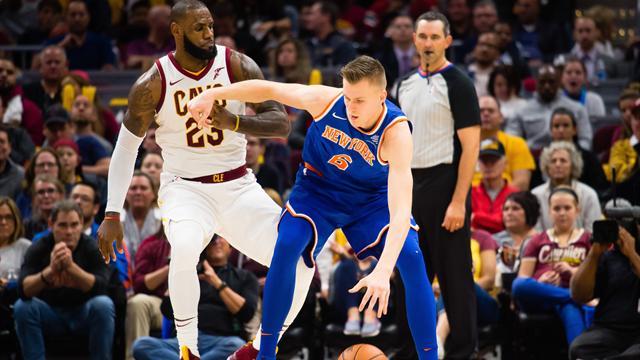 Les Knicks enfoncent les Cavs — NBA
