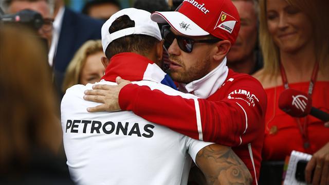 """Hamilton: """"Ho commesso l'unico errore dell'anno"""". Vettel: """"La gara andrà bene"""""""