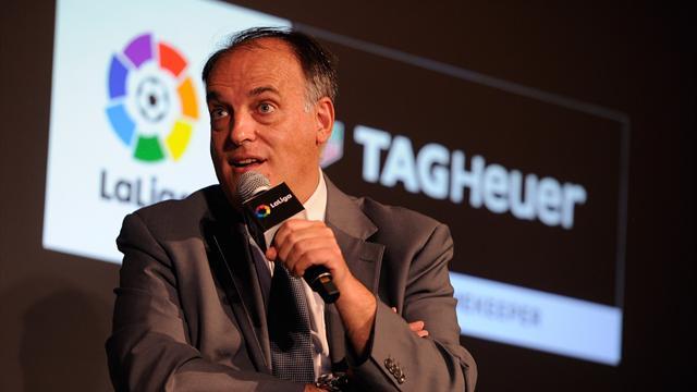"""Tebas insiste sur le PSG : """"Si l'UEFA ne fait rien, on ira devant l'Union européenne"""""""