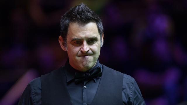 O'Sullivan and Ding suffer shock early exits