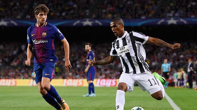 Barcellona, si ferma Sergi Roberto. Salterà la sfida contro la Juventus