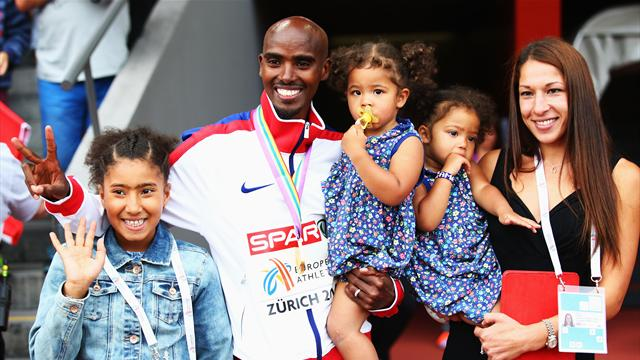 'No place like home!' - Mo Farah begins new chapter
