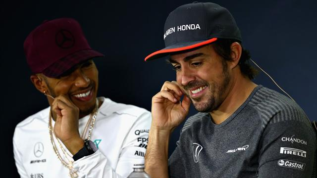 Hamilton hopes 'tough cookie' Alonso can join 2018 title race