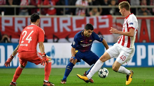 Champions League, Olympiacos-Barcelona: No pasan tan Proto (0-0)