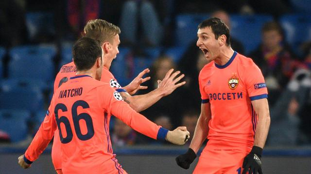 CSKA comeback stuns Basel to keep hopes alive