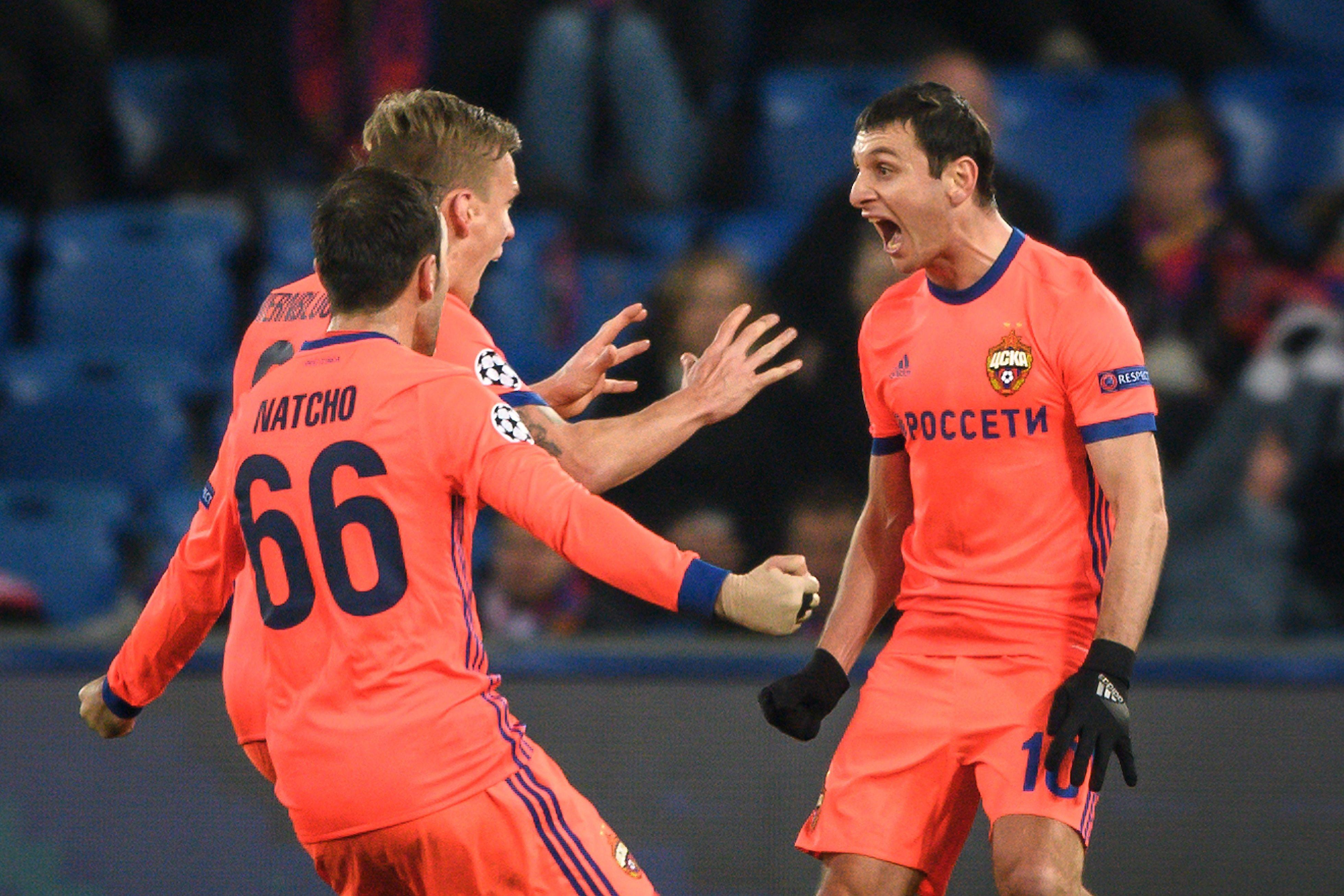 ЦСКА побеждает «Базель», Алан Дзагоев