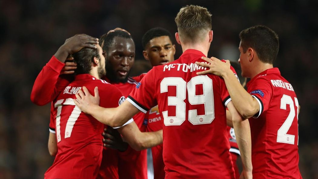 Image result for man utd champions league 2018