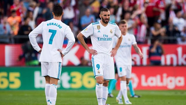Ronaldo and Benzema the worst strike partnership in La Liga