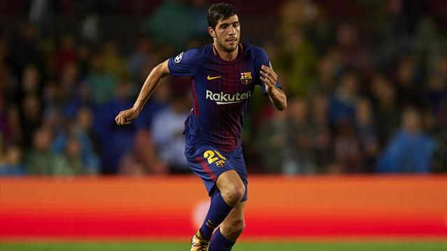 Sergi Roberto absent 5 semaines, André Gomes 1 mois