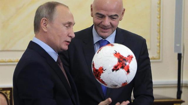 El Kremlin acogerá el sorteo del Mundial el 1 de diciembre