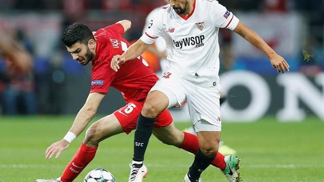 Mercado, Rico y Nolito, novedades en el Sevilla; y Yéschenko en el Spartak