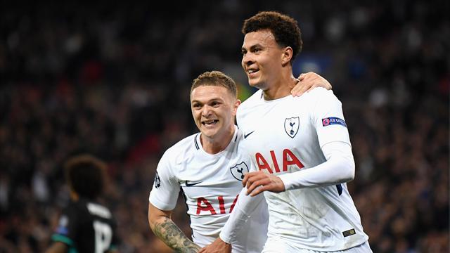 Polémica: El 1-0 del Tottenham, en fuera de juego