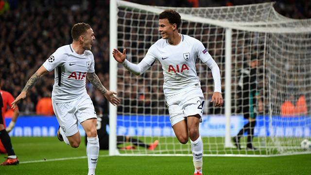Alli stars as Tottenham stun Real to seal progress in style