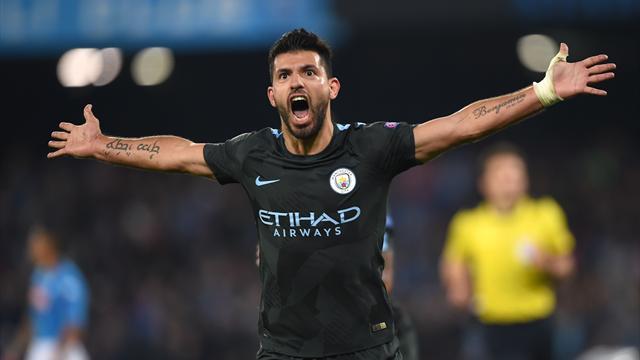 Агуэро стал лучшим бомбардиром в истории «Манчестер Сити»