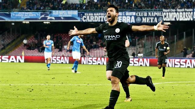 Agüero se convierte en el máximo goleador en la historia del Manchester City