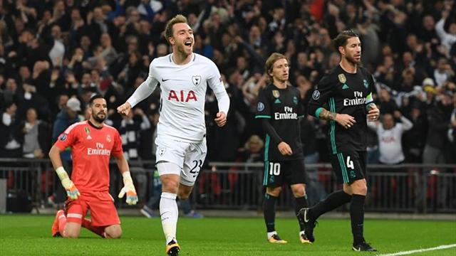 3-1. Alli y Eriksen castigan a un apático Real Madrid en Wembley