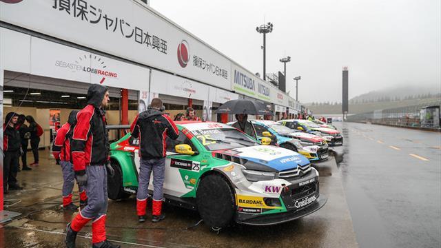 Èxito en el WTCC Trophy del Sébastien Loeb Racing