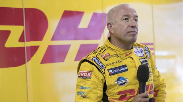 Tom Coronel desconcertado en el WTCC de Japón