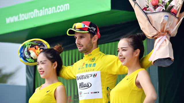 Mareczko sprints to fifth successive stage win in Hainan