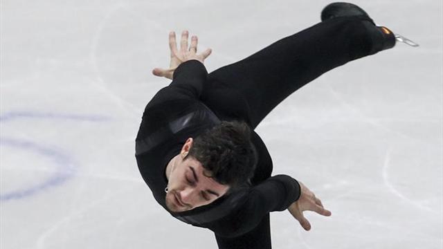 Javier Fernández, de estreno en el Grand Prix de China