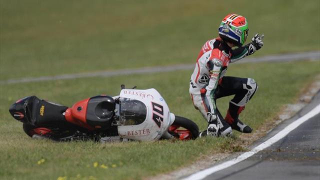 Darryn Binder con Aki Ajo en Moto3 y con representación en Mundial Júnior