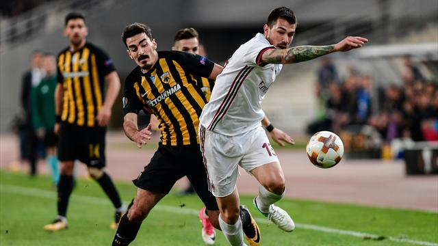 Round-up: Milan draw another blank in Europa League