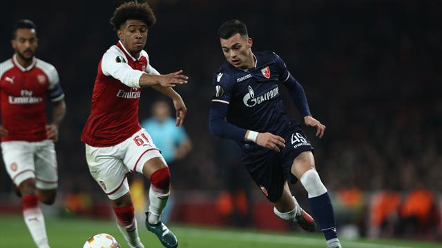 Arsenal secure last-32 place with draw against Red Star