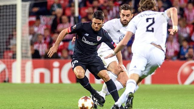 Aduriz iguala a Altobelli y Petric como sexto goleador de Liga Europa y UEFA